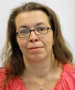 Bild: Grit G., 42 Jahre, alleinerziehend, 2 Kinder - Teilnehmerin bei avanta München e. V. in der Verwaltung/Buchhaltung